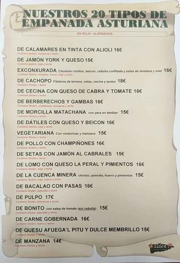 Listado Empanadas Dic. 2018 - web